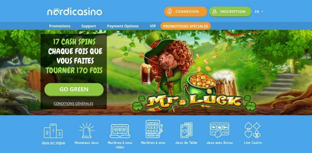 Nordicasino avis : on vous dit tout sur ce casino !